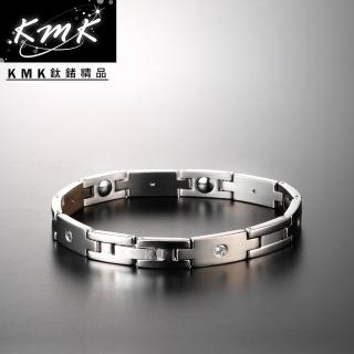 【KMK鈦鍺精品】元羽(純鈦+純鍺健康手鍊)