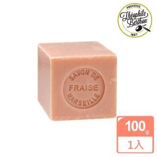 【法國 戴奧飛波登】方塊馬賽皂-草莓香(100g)