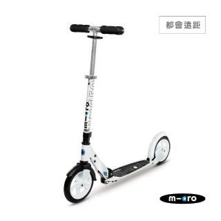 【瑞士第一 Micro】Black / White 成人滑板車(大輪徑滑板車)