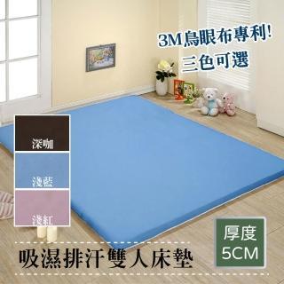 【戀香】吸濕排汗透氣床墊(雙人5尺)