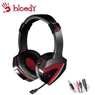 【A4 Bloody 雙飛燕】立體聲遊戲耳機(G500)