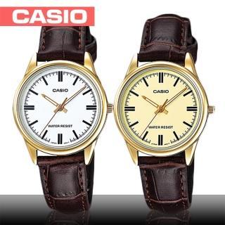 【CASIO 卡西歐】送禮首選-日系簡約氣質女錶(LTP-V005GL)