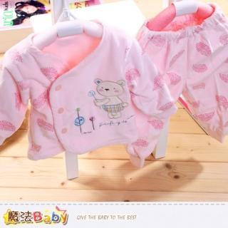 【魔法Baby】細雪絨保暖舒適專櫃嬰兒服(k39030)