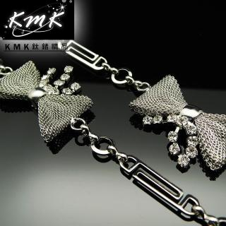 【KMK鈦鍺精品】《蝴蝶情》(多功能腰鍊、項鍊、配飾)