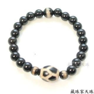 【藏珠家天珠】延年益壽 增福增壽之表徵 福壽天珠手鍊
