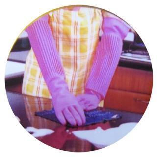 【康乃馨】家庭用天然乳膠手套-加長型18-12雙入