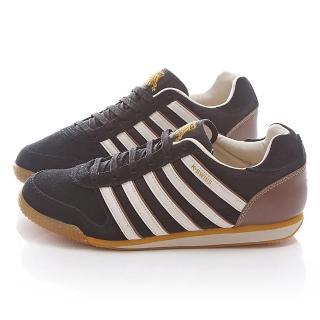【K-SWISS】男款 WHITBURN SP T 復古慢跑鞋(02951-040-黑)