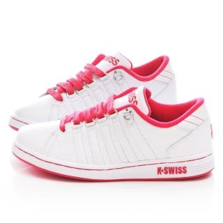 【K-SWISS】女款 LOZAN III 時尚休閒鞋(93212-172 -白桃)