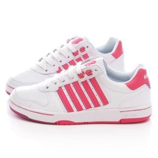 【K-SWISS】女款 JACKSON 時尚休閒鞋(93360-170-白桃)