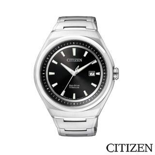 【CITIZEN 星辰】科技新貴鈦時尚腕錶(AW1251-51E)