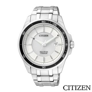 【CITIZEN 星辰】Eco-Drive 光動能超級鈦紳士腕錶(BM6921-58A)