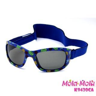 【Mola Mola 摩拉.摩拉】安全偏光 寶寶 兒童 嬰幼兒太陽眼鏡 3歲以下(K-9430ca)