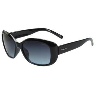 【Polaroid 寶麗萊】-偏光太陽眼鏡(黑色/琥珀)