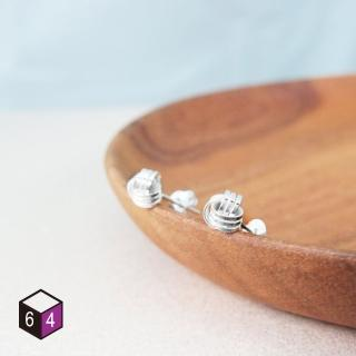 【ART64】925純銀耳環 交響樂曲(Mini Earrings)