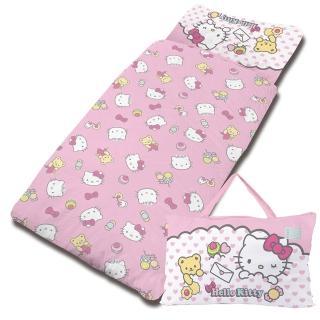 【享夢城堡】HELLO KITTY 我的最愛系列-精梳棉冬夏兩用兒童睡袋