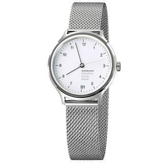 【MONDAINE瑞士國鐵】設計系列腕錶(米蘭帶/33mm)