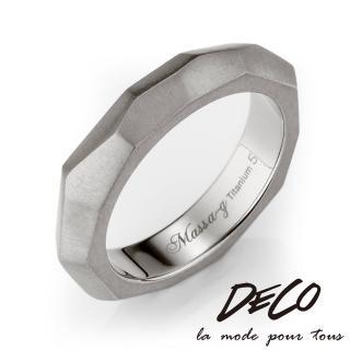 【DECO X MASSA-G】純粹 純鈦戒指