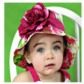 【美國 Fancy That Hat】大花朵抗UV太陽防曬帽/太陽帽_繽紛花卉(FTH03)