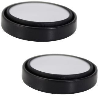 【omax】台製360度可迴轉輔助小圓鏡LY117(2入)