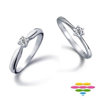 【彩糖鑽工坊】Tender系列 鑽石戒指(CL-RD101)