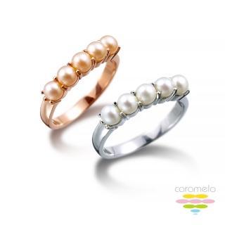 【彩糖鑽工坊】旖旎系列 日本AKOYA珍珠戒指(CL-RD73)