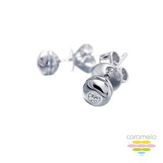 【彩糖鑽工坊】Roundness系列 鑽石耳環(CL-EA01)