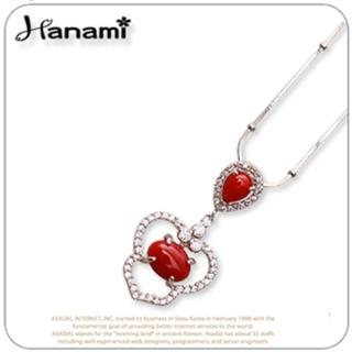 【Hanami】唯美典雅紅珊瑚項鍊