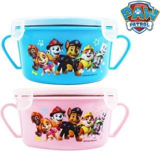 【鄉村熊餐具組合2】幼兒隔熱碗附蓋x2+雙耳碗x2(4件組水藍+粉紅色)