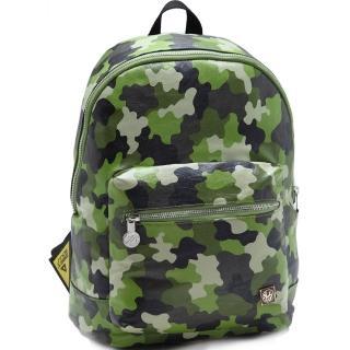 【1 Man Army】野性精神迷彩魅力中性款後背包(共3色)
