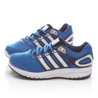【Adidas】中大童 輕量慢跑運動鞋(B32721-藍)