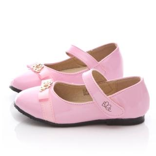 【ELLE】中童 品味典雅公主鞋(ELKP42713-粉)