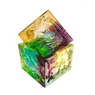 【琉璃藝術大師-黃安福】如意盒/琉璃珠寶盒(創藝工坊 琉璃藝術)