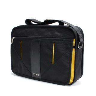 【Lynx】時尚科技系列橫式側背包-大(兩色)