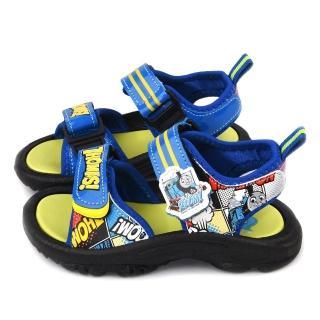 【童鞋城堡】湯瑪士 中小童 男童涼鞋(TH43032-藍)