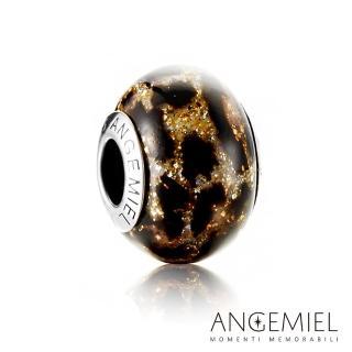 【Angemiel安婕米】義大利純銀珠飾 野性 琉璃珠