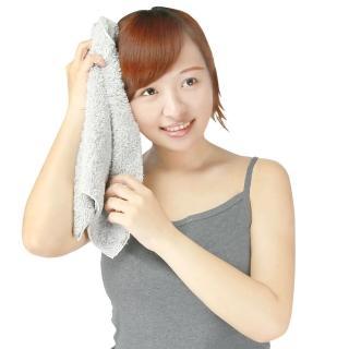 【源之氣】竹炭極超細纖維柔軟毛巾30*60cm/3入 RM-10018