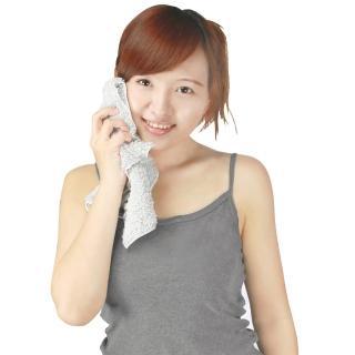 【源之氣】竹炭極超細纖維柔軟小方巾30*32cm/6入 RM-10017