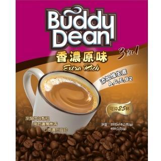 【Buddy Dean】巴迪三合一咖啡-香濃原味(18gx25包入/袋)