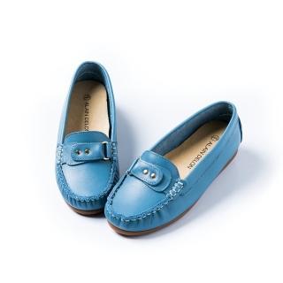 【ALAIN DELON】完美舒適百搭豆豆鞋W7524(2色 黃色 藍色)