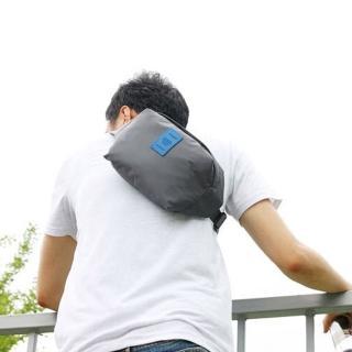 【iSFun】運動專用*防水大號腰包/三色