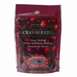 【特拉佛斯】天然蔓越莓乾85g/包(美國莓果果乾系列)