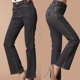 【RH】單一尺碼特賣顯瘦纖細牛仔褲(復古車線剩下M號最後出清)