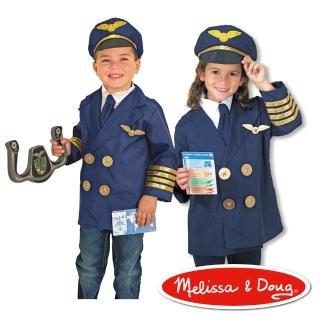 【美國瑪莉莎 Melissa & Doug】機長服遊戲組