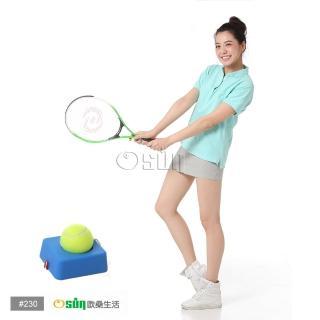 【Osun】FS-T230兒童網球拍+硬式網球練習台(綠白CE-185F_A)