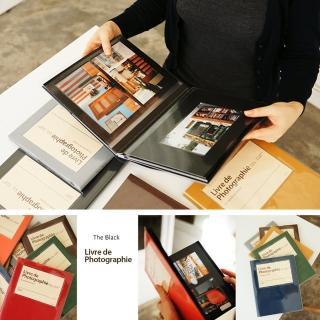 【韓國 invite.L】吸附式相本 相簿 隨著心情擺放相片位置(內頁黑 繽紛多彩16色)