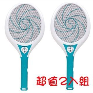 【日象】大器旋風充電式電蚊拍2入(ZOM-3800)