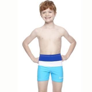 【SAIN SOU】兒童五分泳褲(附泳帽A63406)