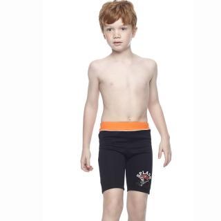 【SAIN SOU】SPA/泡湯專用兒童七分泳褲(附泳帽A65402-01)