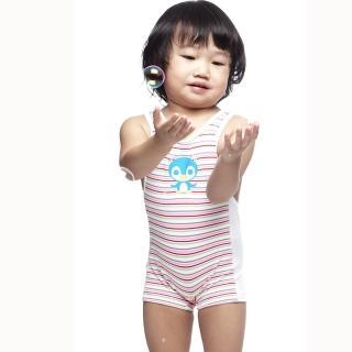 【SAIN SOU】女童泳裝(附泳帽A80410)