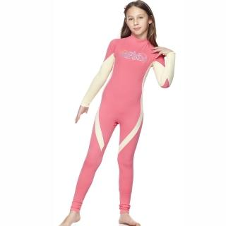 【SAIN SOU】女童連身水母衣泳裝(A80411)
